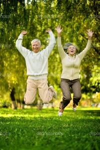 Elderly-couple-jumping