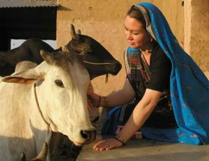 cow and mataji
